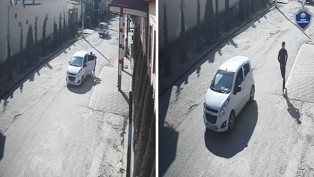 В Сурхандарьинской области трое человек насильно затащили девушку в автомобиль
