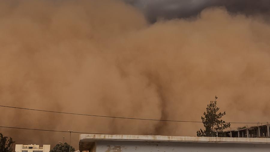В Монголии из-за песчаной бури погибли шесть человек — видео