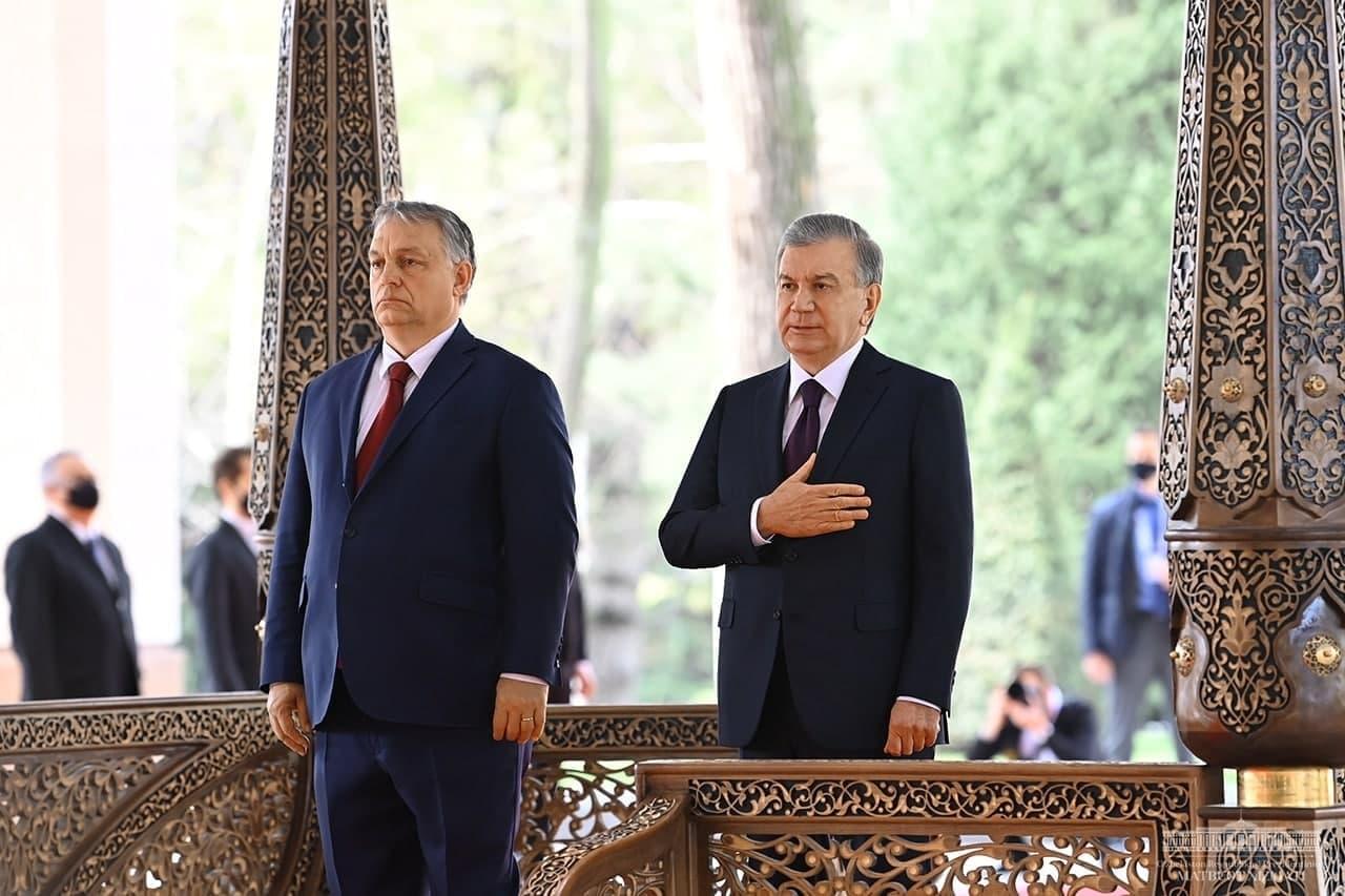 В Ташкенте состоялись переговоры между президентом Узбекистана и премьер-министром Венгрии