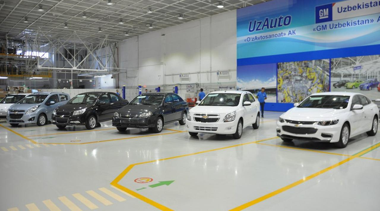 UzAuto Motors возобновят продажи популярных марок автомобилей