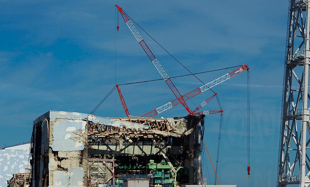 На территории АЭС «Фукусима-1» нашли утечку радиации