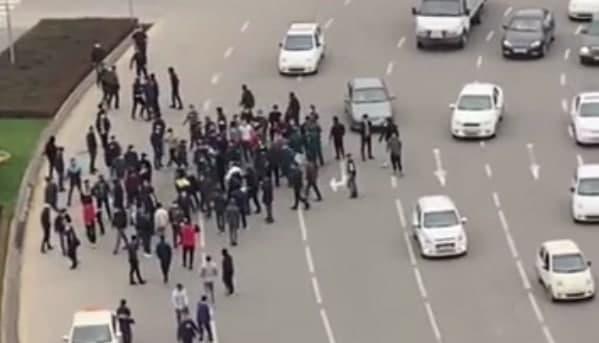В ГУВД прокомментировали протесты против легализации ЛГБТ в Узбекистане — видео