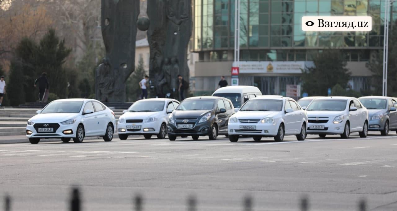 Подсчитано количество автомобилей по Узбекистану