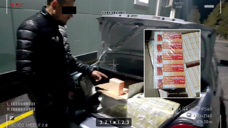 Пойман гражданин, перевозивший запрещенные препараты в Ташобласти