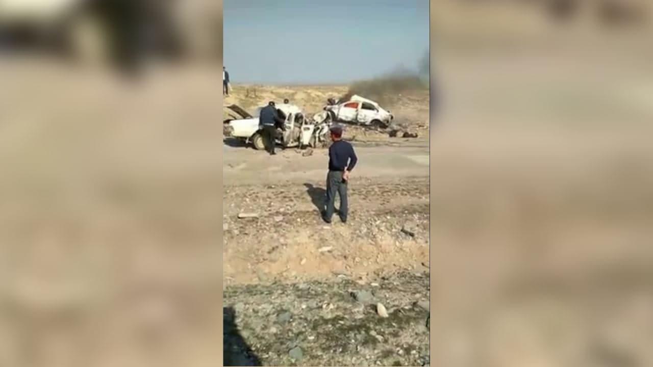 В Джизакской области произошло смертельное ДТП — видео