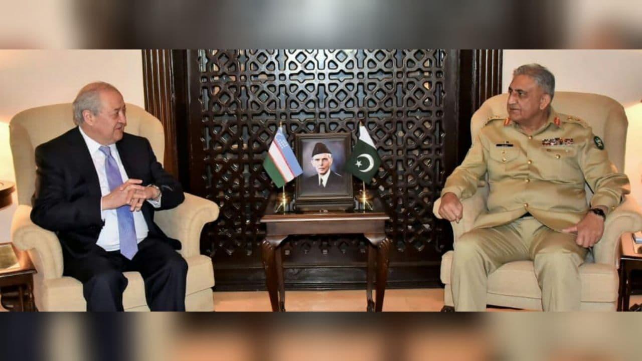 Глава МИД Узбекистана встретился с командующим Сухопутными войсками Пакистана