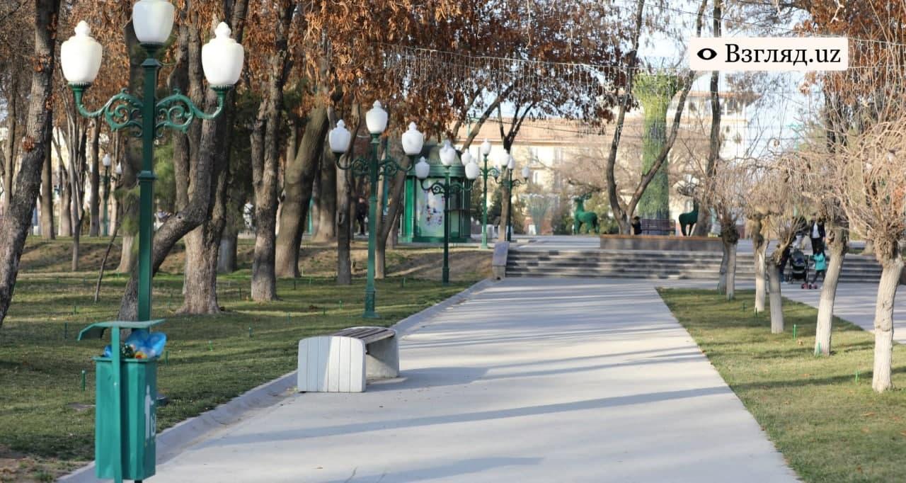Теплая погода сохранится в Узбекистане