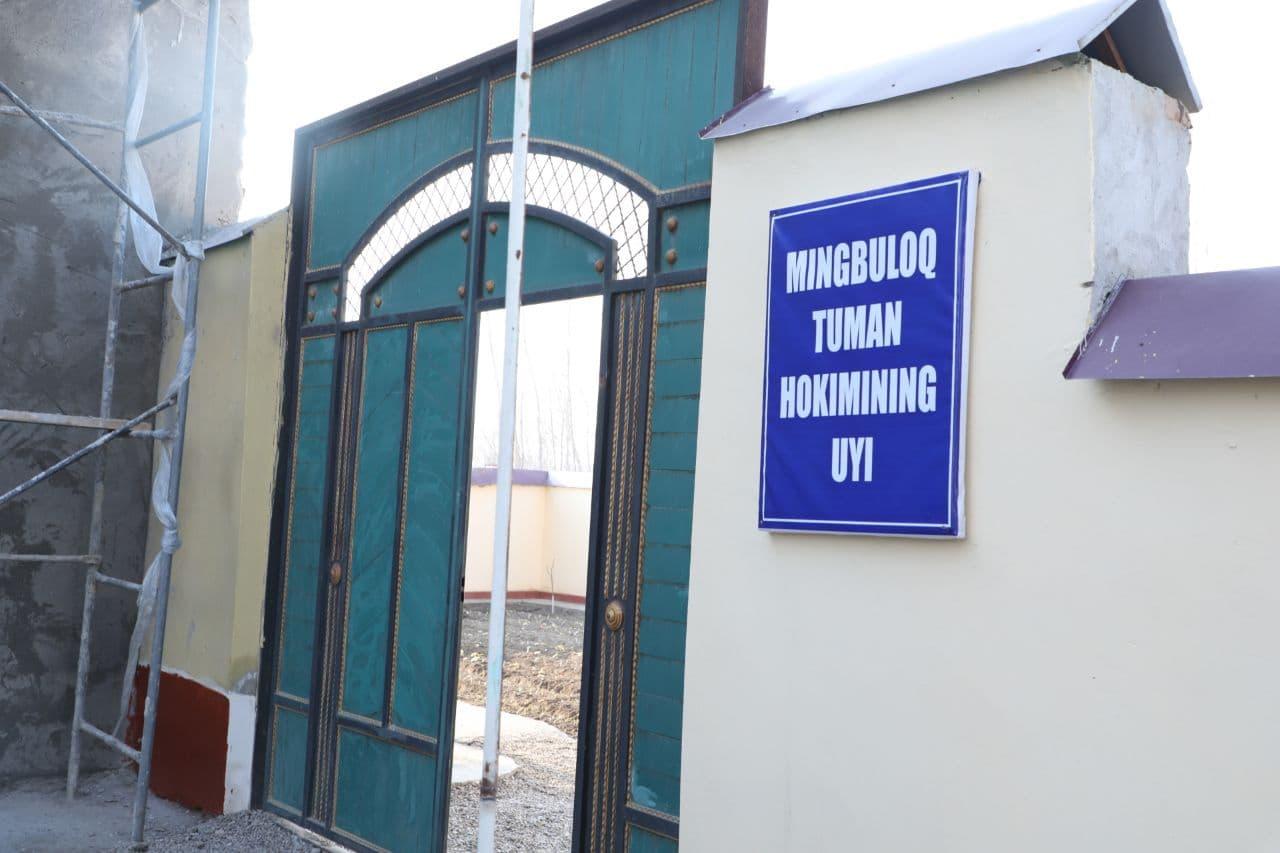 Хоким Мингбулакского района Наманганской области переехал в махаллю