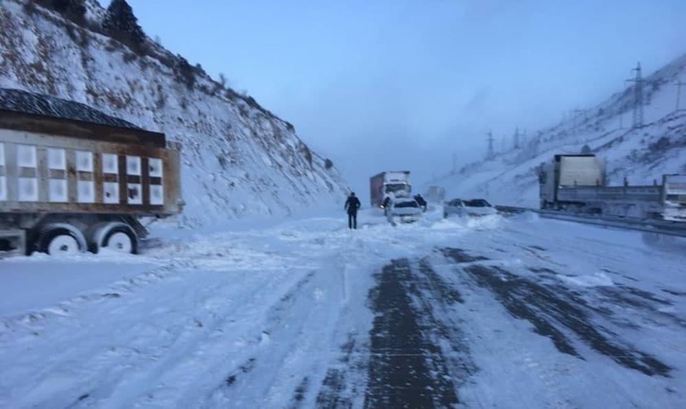 Движение на пути к перевалу «Камчик» вновь открыто