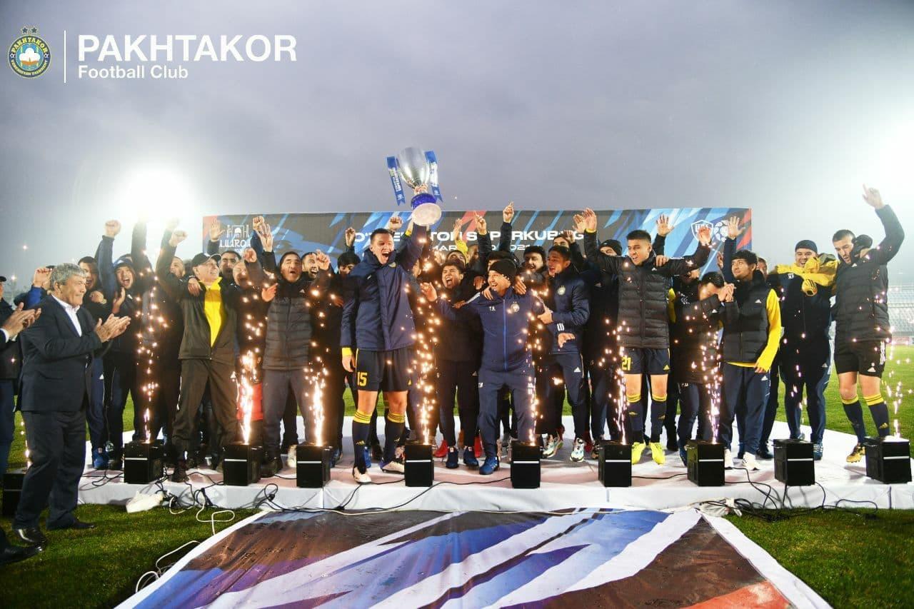 «Пахтакор» впервые стал обладателем Суперкубка Узбекистана – видео