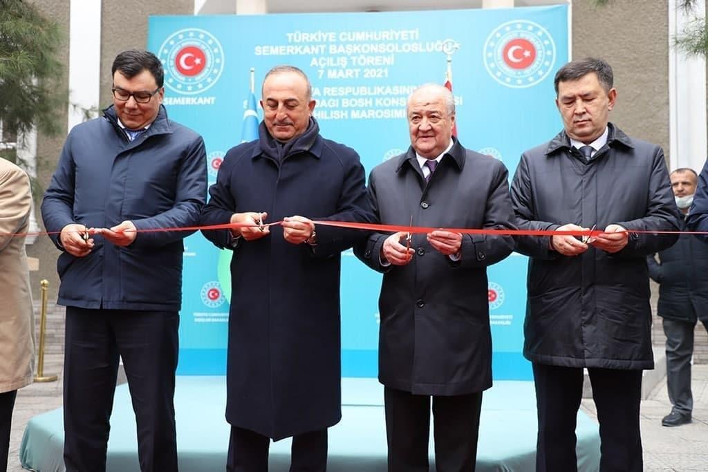В Самарканде открылось Генеральное консульство Турции