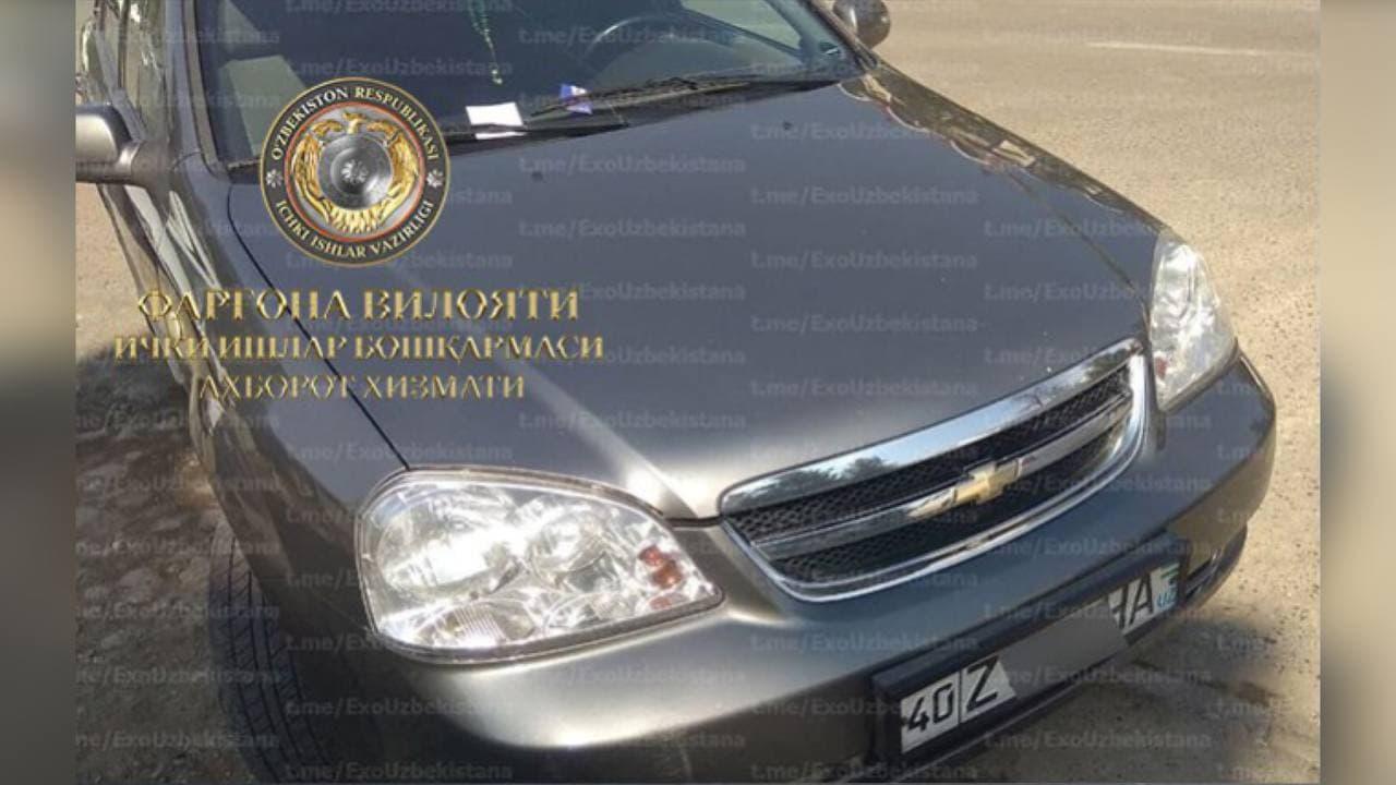 В Фергане водителя Lacetti оштрафовали более чем на 700 тысяч сумов