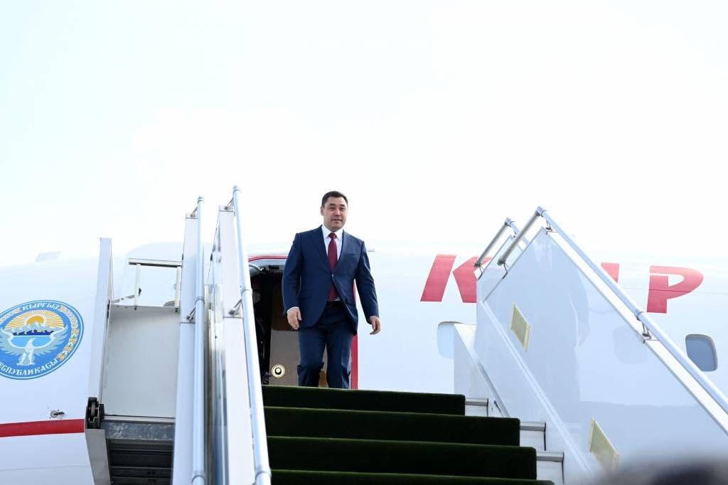Президент Кыргызстана прибыл в Узбекистан