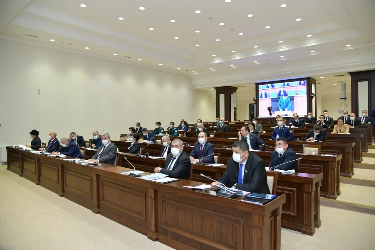В Сенате отчитались о расходах средств четырёх областей из дополнительных источников
