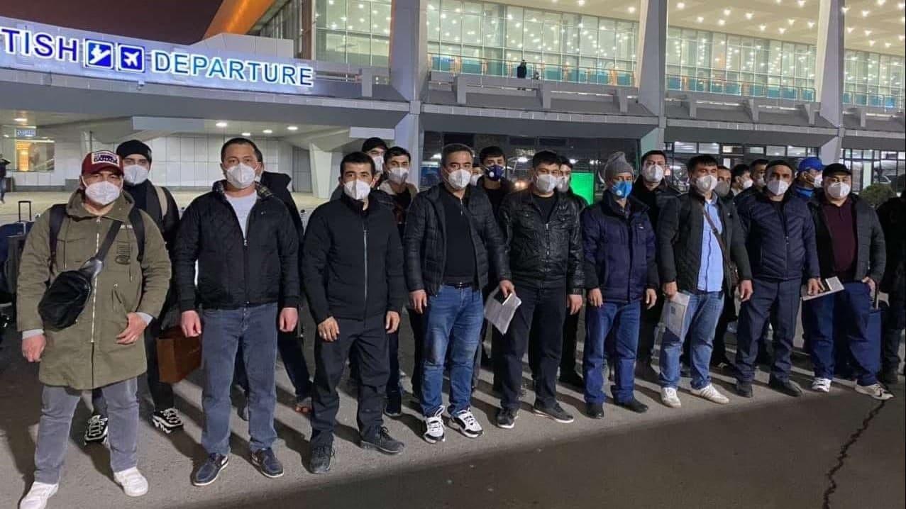 39 граждан Узбекистана выехали в Южную Корею