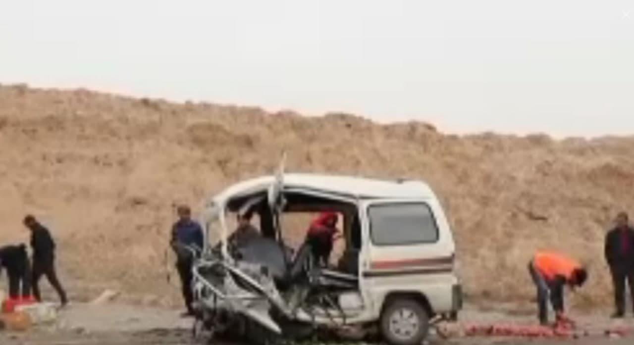 В Сурхандарьинской области произошло смертельное ДТП  — видео