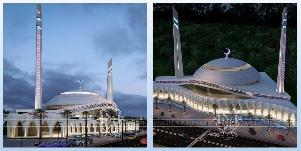 В Ташкенте строится Hi-tech мечеть