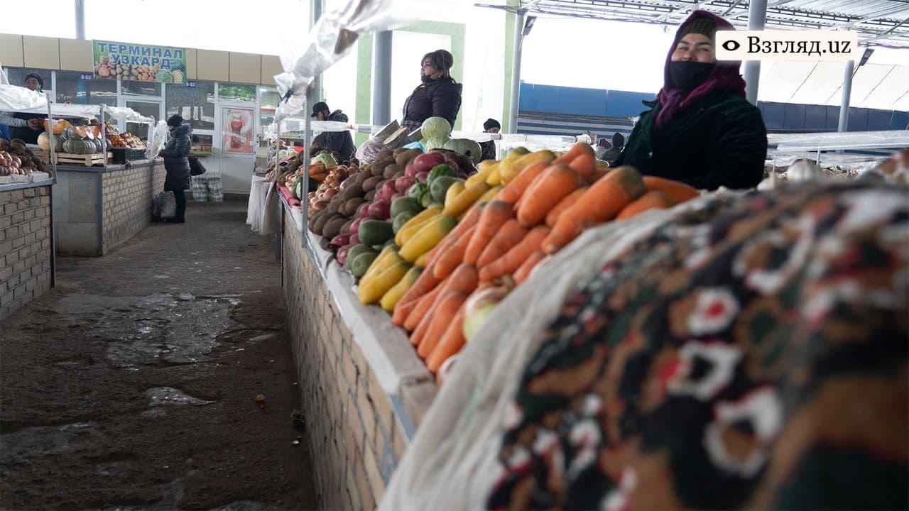 Названы максимальные и минимальные цены на продукты питания в Узбекистане