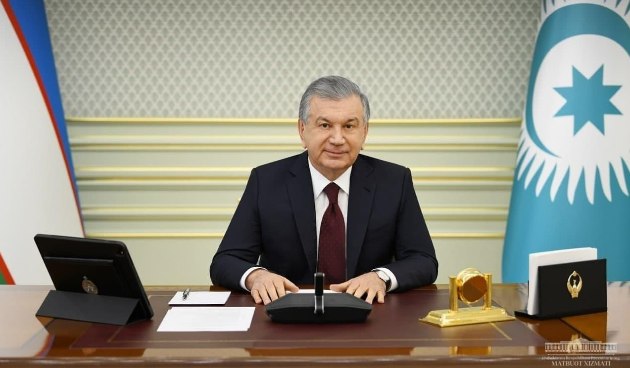 Шавкат Мирзиёев выступил на неформальном саммите Тюркского совета в онлайн формате