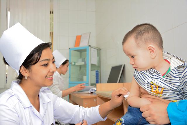 Контроль за распостранением полиомиелита в Узбекистане будет усилен