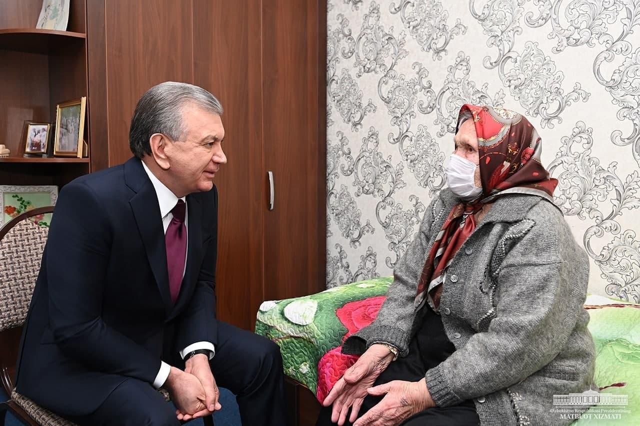 Шавкат Мирзиёев поручил улучшить условия 34 домов «Саховат» и «Мурувват»