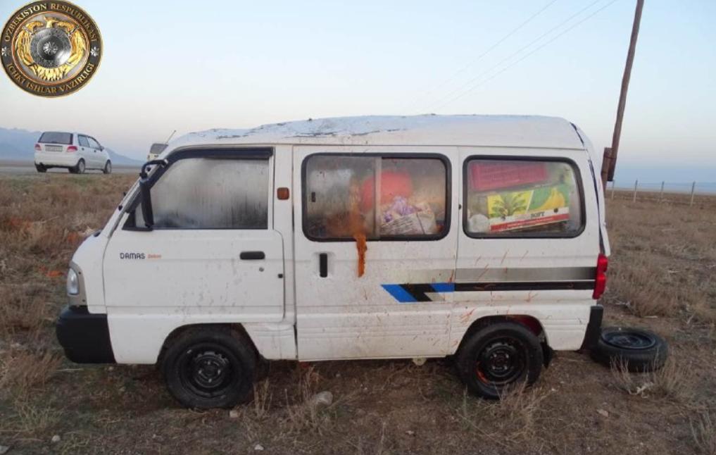 Супружеская пара попала в ДТП в Навоийской области