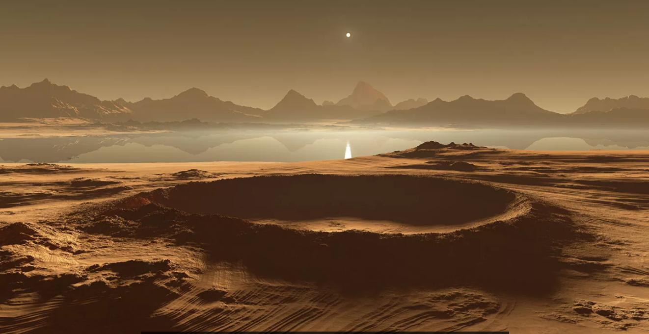 На одном из крупнейших спутников Сатурна могли возникнуть условия для зарождения жизни