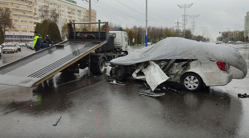 В Ташкенте произошло смертельное ДТП
