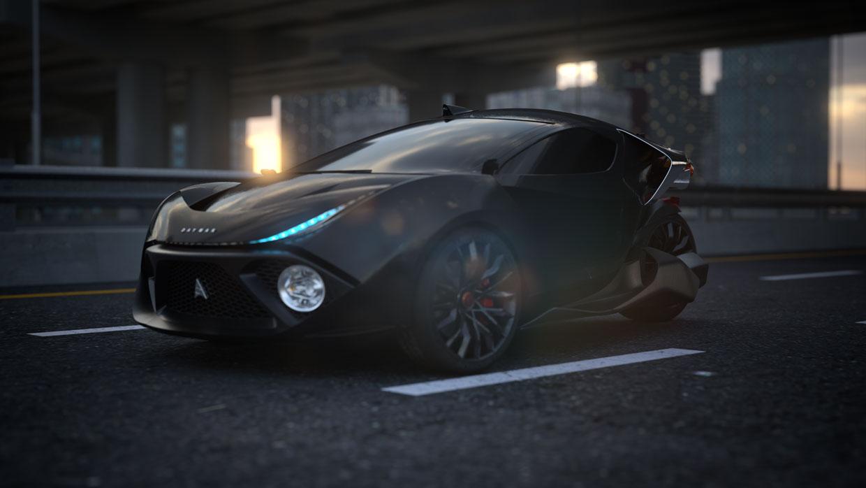 В Канаде выпустят самый быстрый трехколесный автомобиль