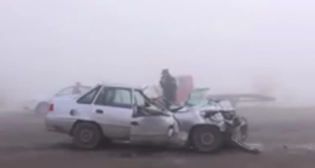 В Кашкадарьинской области в день свадьбы произошла смертельная авария  — видео