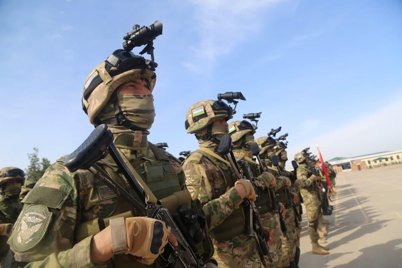 На термезском полигоне состоялись учения узбекских и турецких военнослужащих — фото