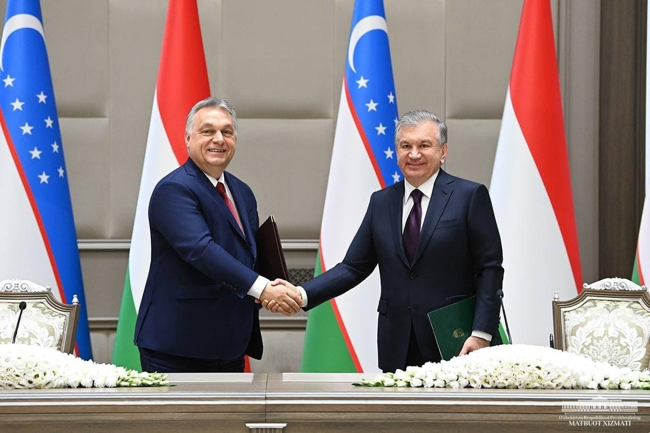 «Инициативы Шавката Мирзиёева открывают новые направления сотрудничества» — Виктор Орбан