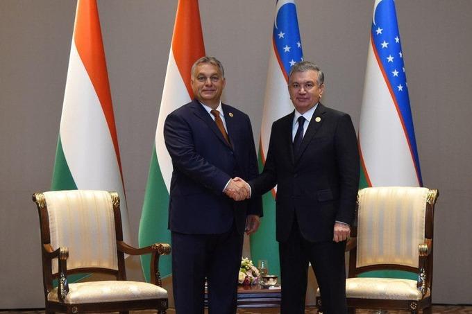 Президент Узбекистана встретится с премьер-министром Венгрии
