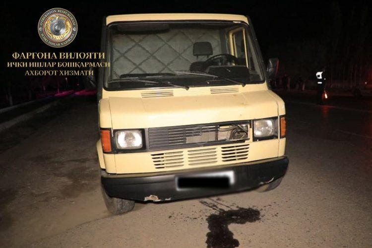 В Ферганской области водитель Mercedes-Benz сбил несовершеннолетнюю девушку