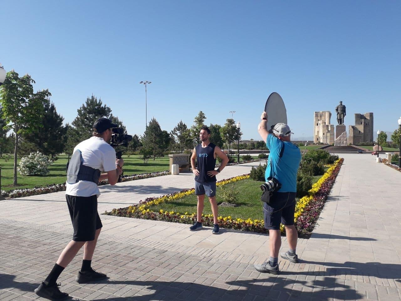 Американская компания снимает фильм про Узбекистан — фото