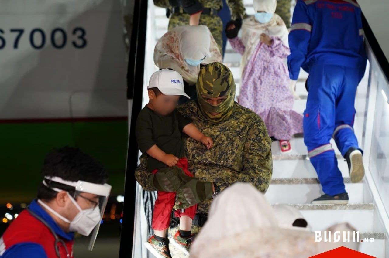Из горячих точек Сирии в Узбекистан вернули 93 женщин и детей