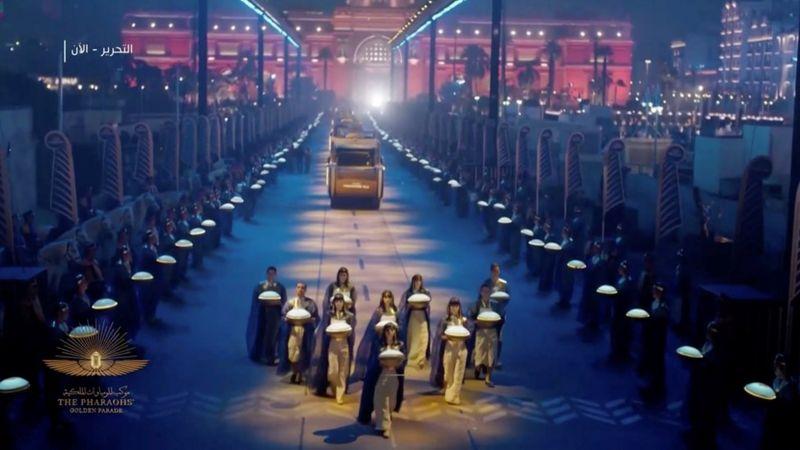 В Каире прошел «золотой парад мумий»