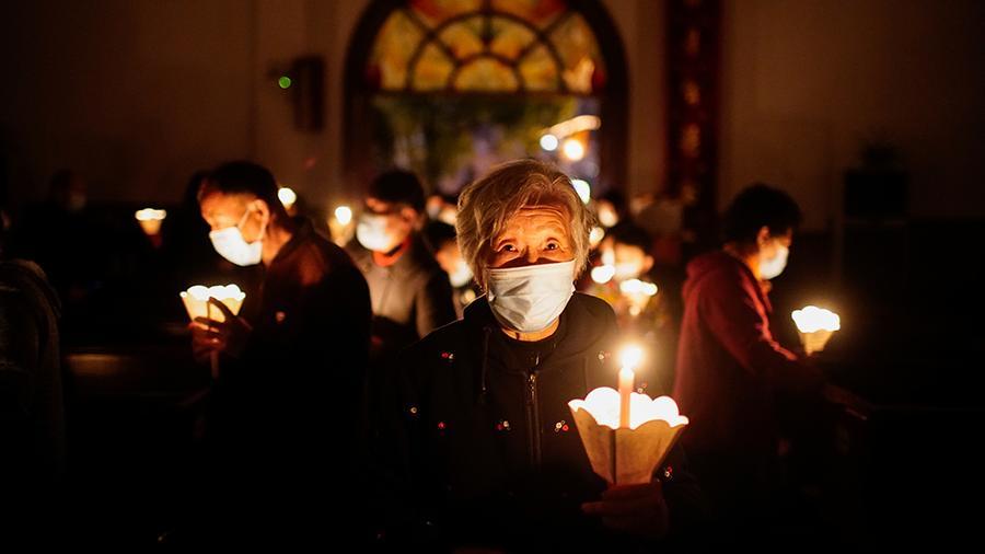 Лютеране и католики начали отмечать Пасху – фото