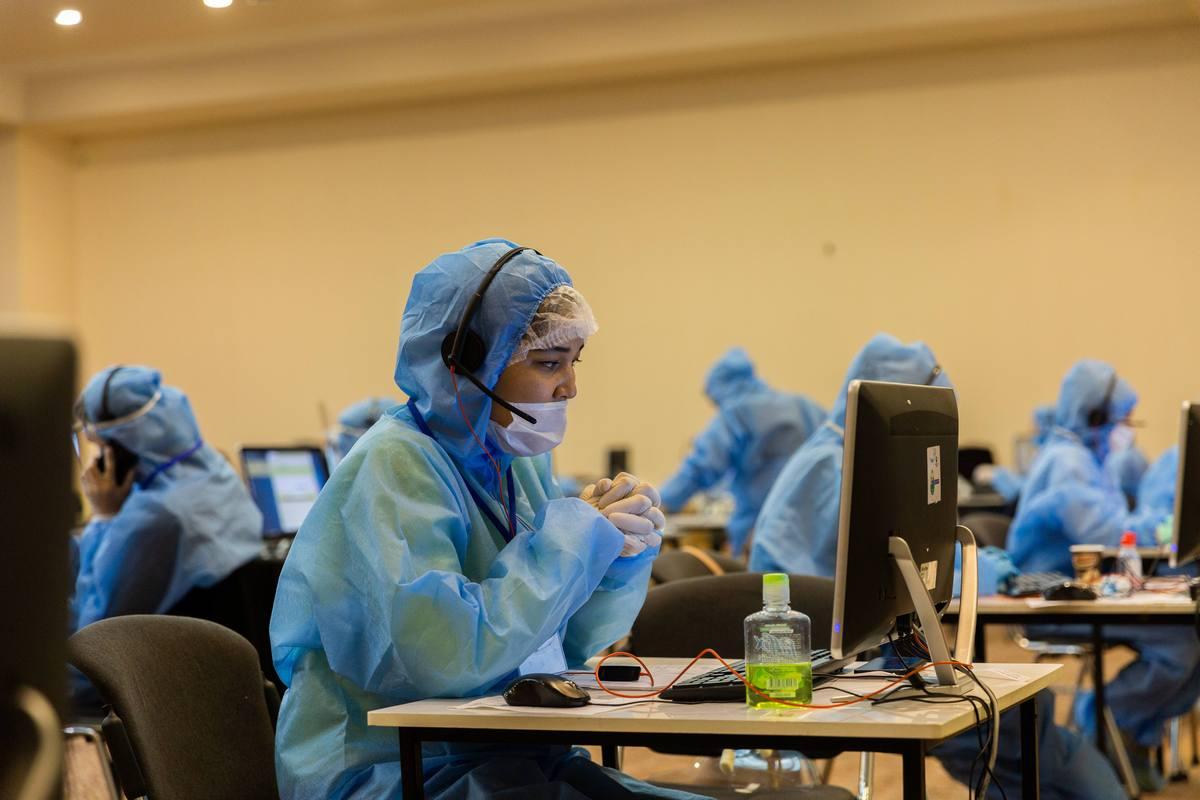 В Узбекистане вновь заработают сall-центры медицинских консультаций для зараженных COVID-19