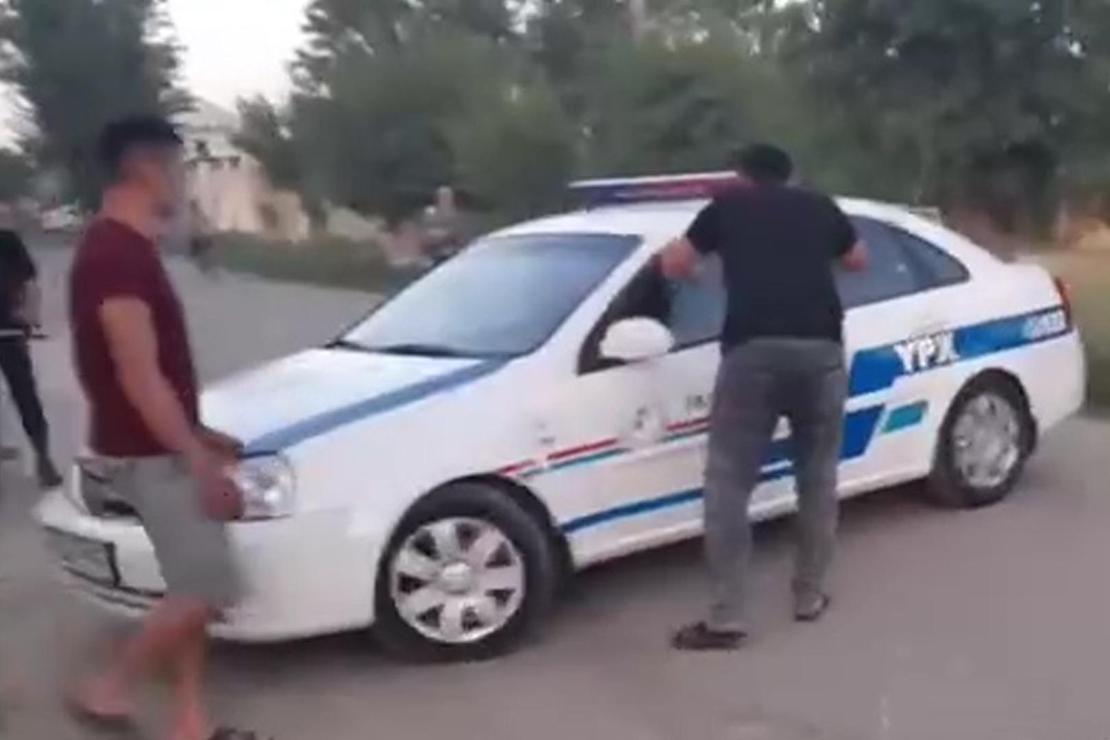 Сотрудники ДПС избили и увезли гражданина в Самаркандской области — видео