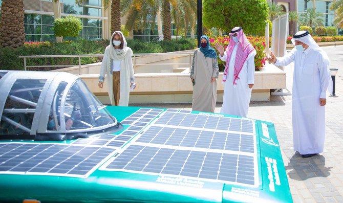 Саудовская Аравия представила автомобиль, работающий от солнечной энергии