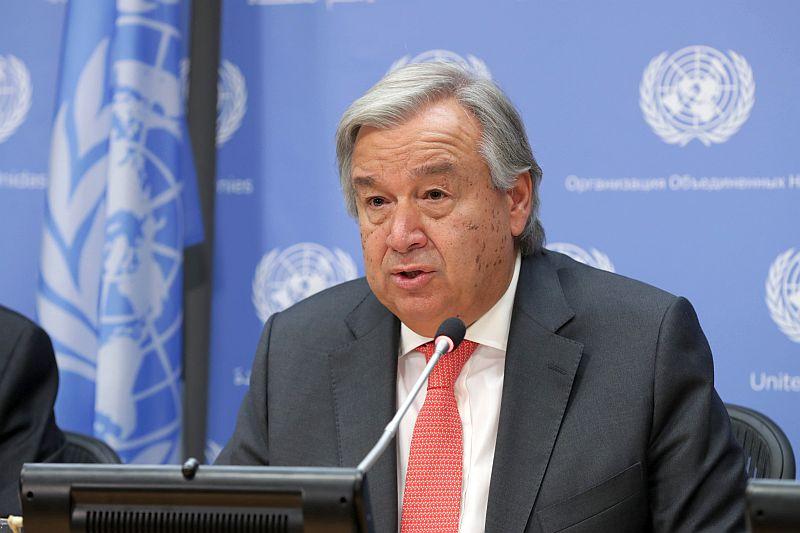 Генсек ООН призвал людей прекратить войну с природой