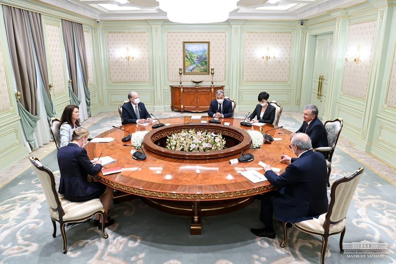 Президент Узбекистана провел встречу с председателем ОБСЕ