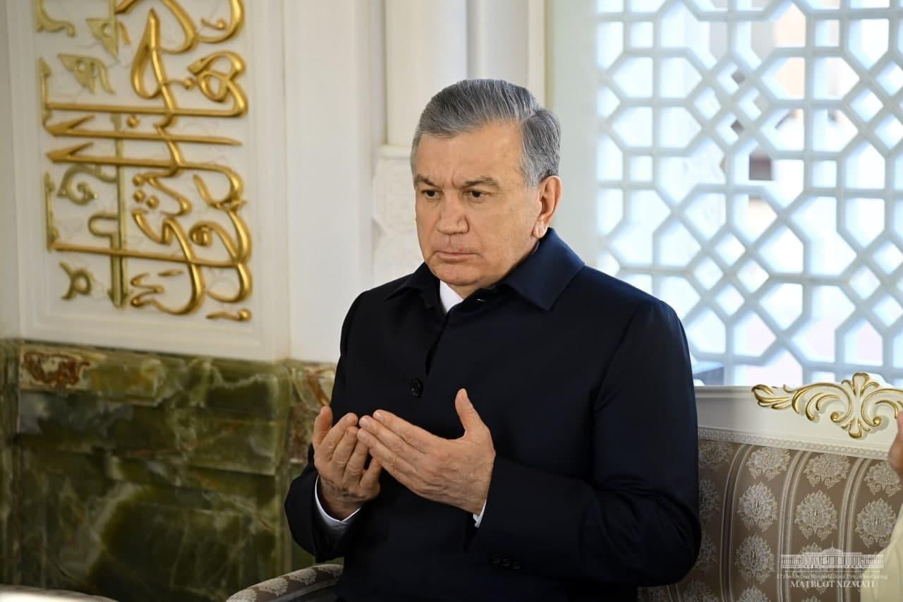 «Мы продолжаем работу, начатую первым президентом», — Шавкат Мирзиёев