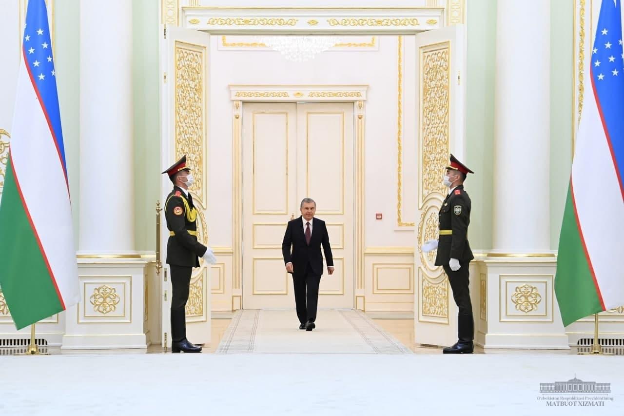 Президент встретился с послами ряда стран