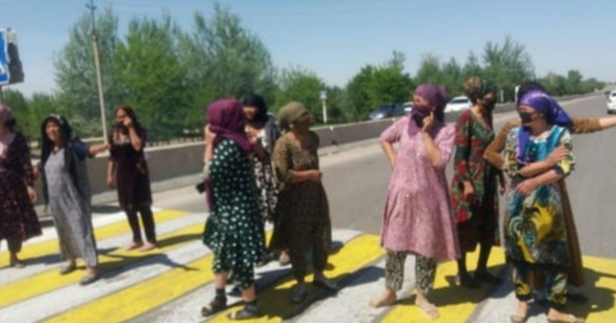 В Чиракчинчком районе ускорили строительство школы после протеста женщин
