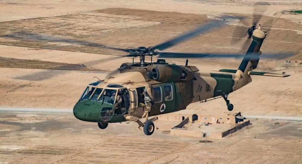 В Афганистане погибли трое человек при крушении вертолета