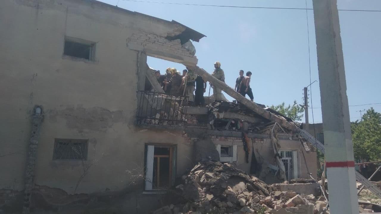 В Генпрокуратуре прокомментировали взрыв в одном из домов Нурафшана