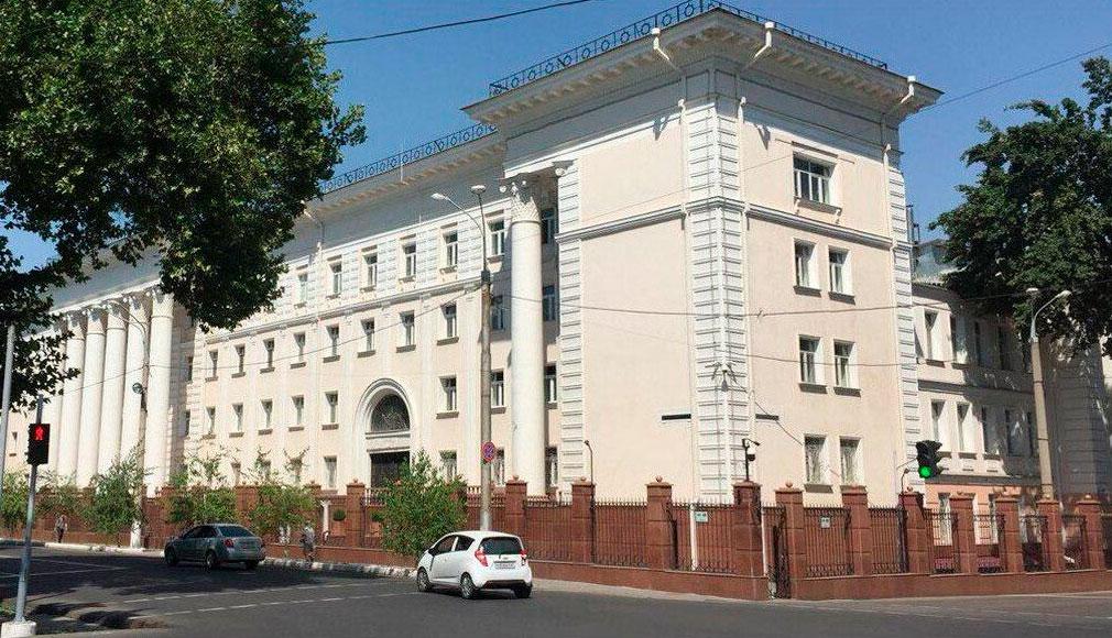Бывшее здание Службы госбезопасности в Ташкенте выставлено на продажу