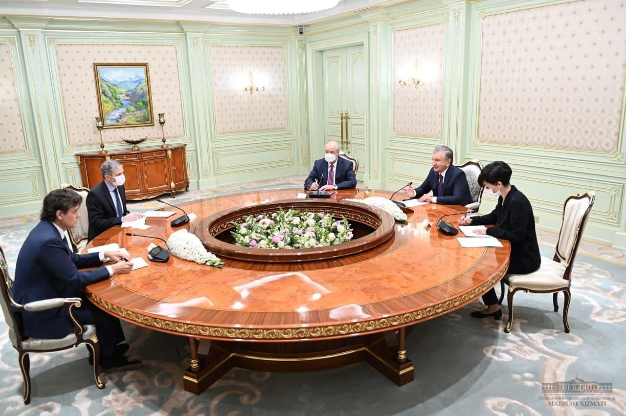 Президент принял делегацию Бюро по демократическим институтам и правам человека ОБСЕ